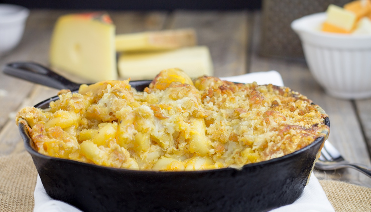 Mac n Cheese Cast Iron